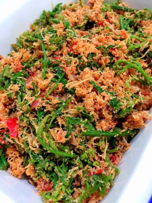 Kerabu Pucuk Paku, Salad Enak Ala Kampung - Rasa
