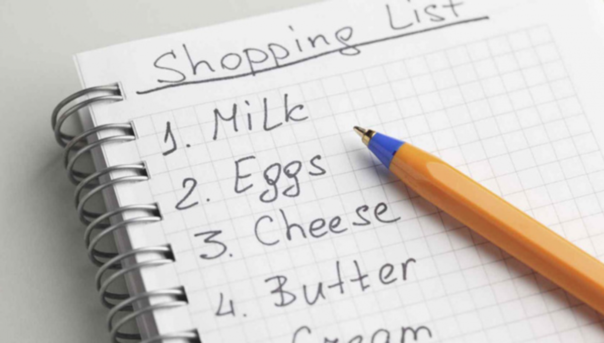 Amalkan Kaedah Membawa Senarai Semak Setiap Kali Keluar Membeli Barangan Dapur Hanya Beli Yang Tertera Sahaja Supaya Jumlahnya Cukup Dengan