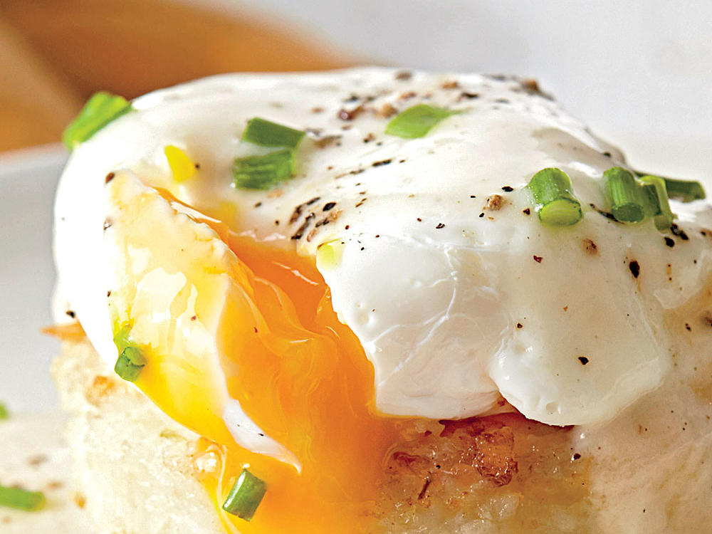 telur 1 - Ini Cara buat Poached Egg Yg Sempurna Masaknya.