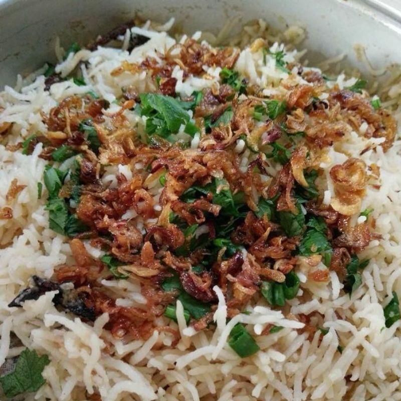 Nasi Minyak Kampung Buat Yang Teringin Nak Makan Nasi Kenduri