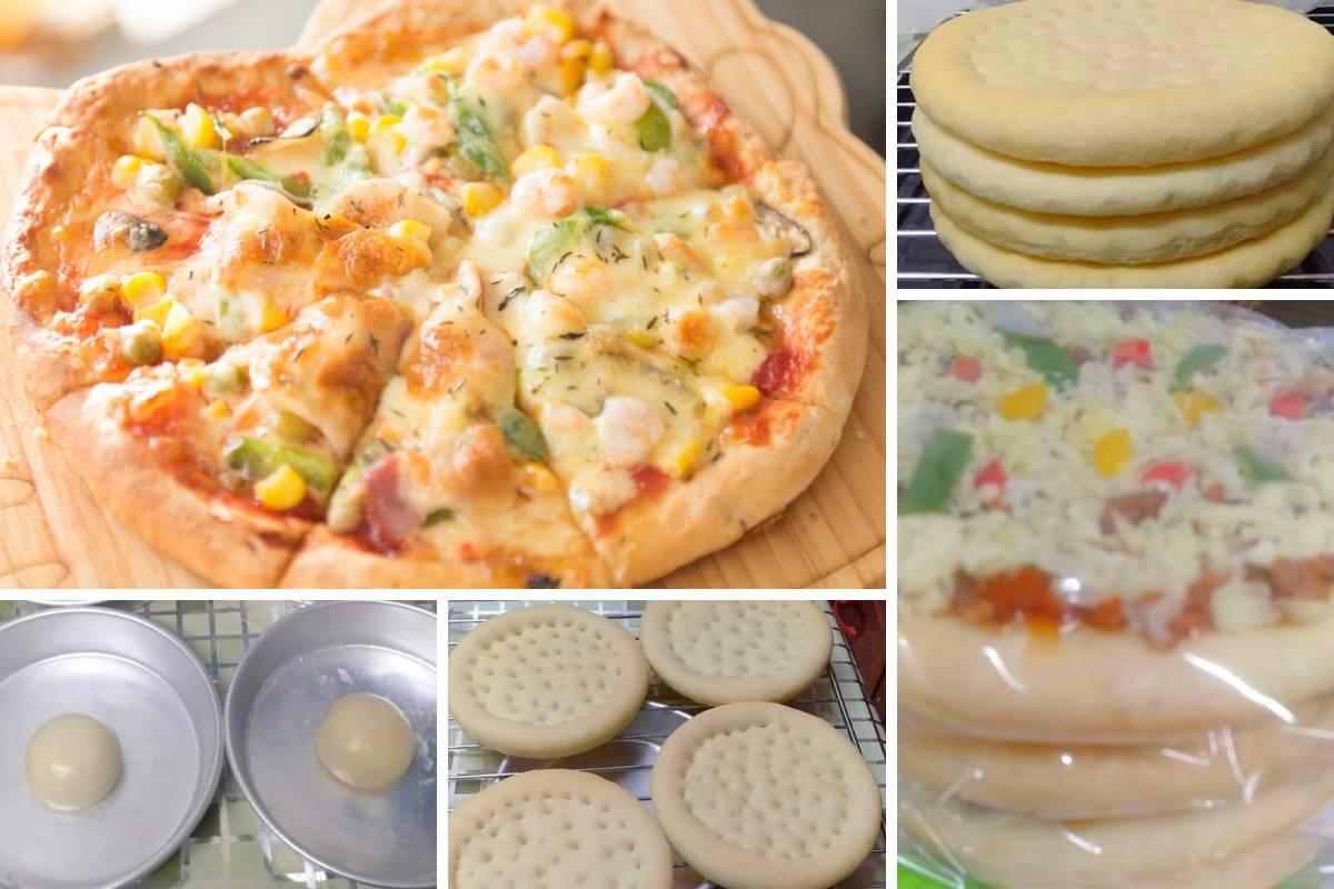 Cara Cara Buat Doh Pizza Paling Mudah Secara Homemade