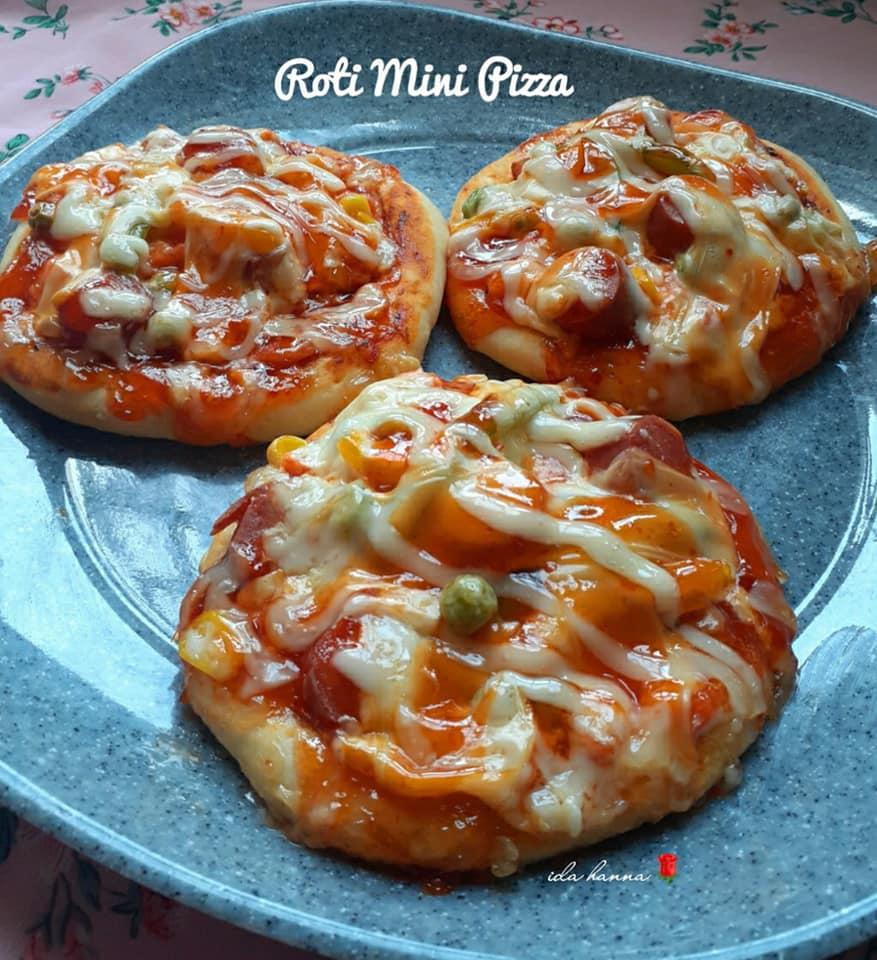 Roti Sosej Piza Mini Senang Je Nak Buat